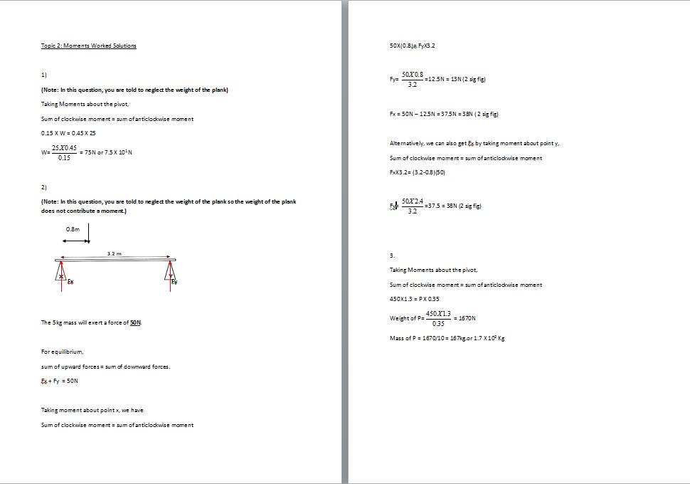 O Level Physics – Physics Worksheets